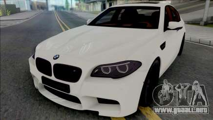 BMW M5 F10 Autovista para GTA San Andreas