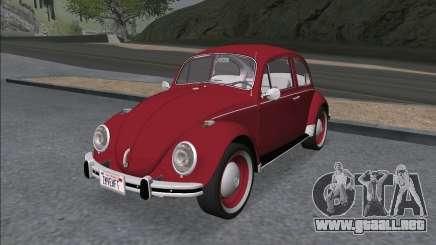 Volkswagen Beetle (Beetle) 1300 1971 - Brasil para GTA San Andreas