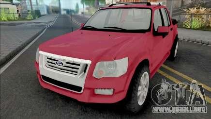 Ford Explorer Sport Trac Limited 2008 Adrenaline para GTA San Andreas