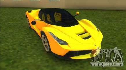 Ferrari LaFerrari para GTA Vice City