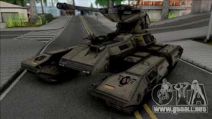 GTA Halo Scorpion GGM Conversion para GTA San Andreas