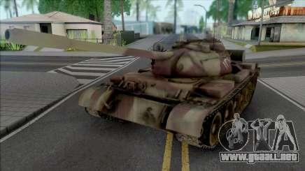 T-55 Egyptian Army para GTA San Andreas
