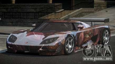 Koenigsegg CCGT GS L2 para GTA 4