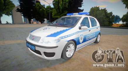 Fiat Punto Mk2 Classic Policija para GTA San Andreas