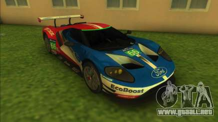 Ford Racing GT Le Mans Racecar para GTA Vice City