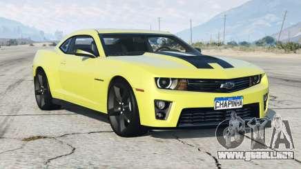 Chevrolet Camaro SS 2013〡add-on para GTA 5
