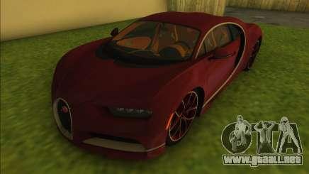 Bugatti Chiron para GTA Vice City