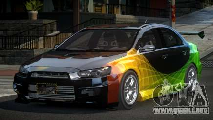Mitsubishi Lancer X GST-R PJ1 para GTA 4