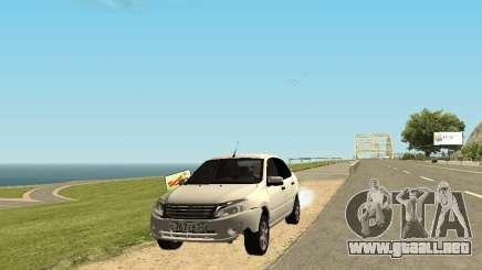 Lada Granta Sedan 53RUS para GTA San Andreas