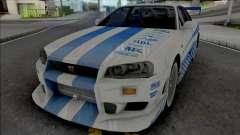 Nissan Skyline GT-R R34 C-West