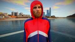 Lionel Messi in hood para GTA San Andreas