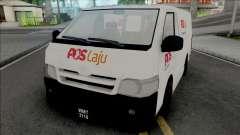Toyota Hiace PosLaju Malaysian Van