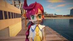 Chloe from Pokemon Journeys para GTA San Andreas