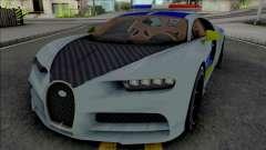 Buggati Chiron Politia Romana para GTA San Andreas