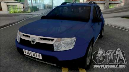 Dacia Duster 2012 UK para GTA San Andreas