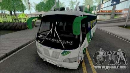 Buseta Exturiscol para GTA San Andreas