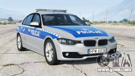 BMW 330i (F30) 2012〡Espón de Policía dePolish [ELS] para GTA 5