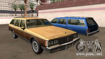 Oldsmobile Custom Cruiser 1980 Cuerpo de madera para GTA San Andreas