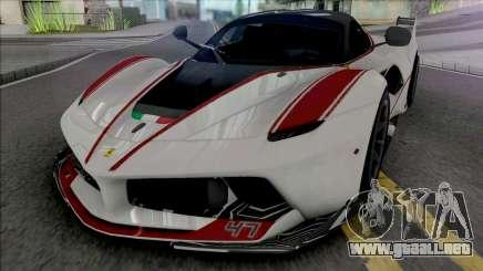 Ferrari FXX-K [Fixed] para GTA San Andreas