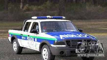 Ford Ranger 2008 Policia Bonaerense para GTA San Andreas