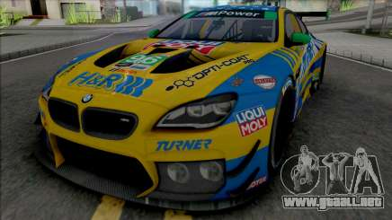 BMW M6 GT3 2018 (Turner Motorsport) para GTA San Andreas