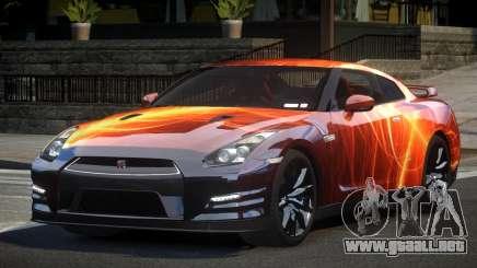 Nissan GT-R V6 Nismo S5 para GTA 4