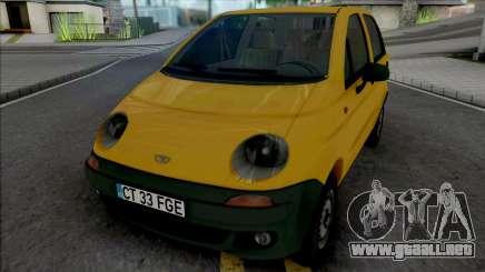 Daewoo Matiz (Romanian Plates) para GTA San Andreas