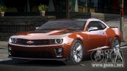 Chevrolet Camaro ZL1 GS L1 para GTA 4