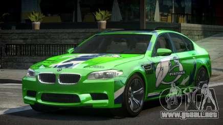 BMW M5 F10 PSI-R S6 para GTA 4