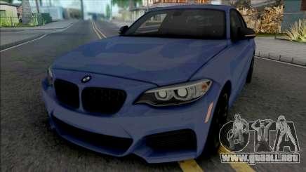 BMW 218i M Sport para GTA San Andreas