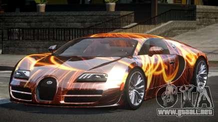 Bugatti Veyron US S5 para GTA 4