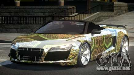 Audi R8 SP Roadster PJ1 para GTA 4