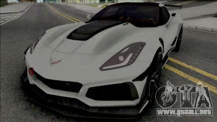 Chevrolet Corvette ZR1 [IVF] para GTA San Andreas