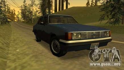 Chevrolet Opala Diplomático 1983 ESTILO SA para GTA San Andreas