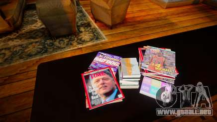 Real Magazine Covers para GTA San Andreas