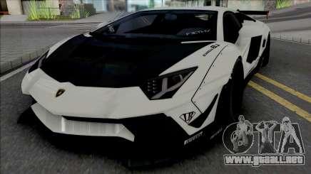 Lamborghini Aventador LP700-4 LB LE v2 para GTA San Andreas