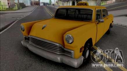 James Mays Approved Cabbie para GTA San Andreas