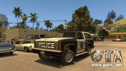 Policía Rancher SA para GTA 4