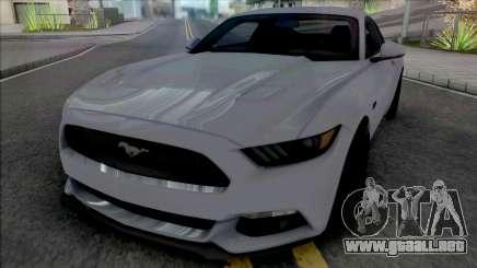Ford Mustang GT [HQ] para GTA San Andreas