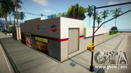 Nueva tienda y graffiti para GTA San Andreas