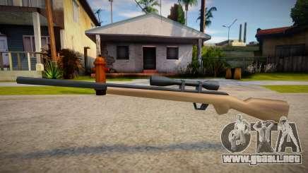 New Sniper Rifle (good textures) para GTA San Andreas