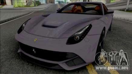 Ferrari F12 Berlinetta (SA Plate) para GTA San Andreas