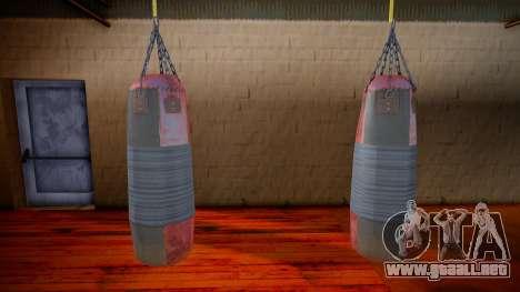 Punching bag para GTA San Andreas