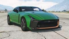 Nissan GT-R50 2019〡add-on para GTA 5