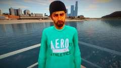 El tipo de la chaqueta verde para GTA San Andreas