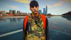 Guy in camouflage style para GTA San Andreas