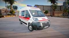 Peugeot Boxer Ambulancia Ucrania