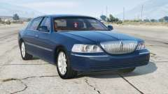 Lincoln Town Car Signature Limited 2010〡add-on v1.1 para GTA 5