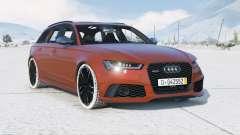 Audi RS 6 Avant (C7) 2015〡add-on para GTA 5