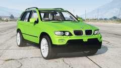 BMW X5 4.8is (E53) 2005〡add-on v1.1 para GTA 5